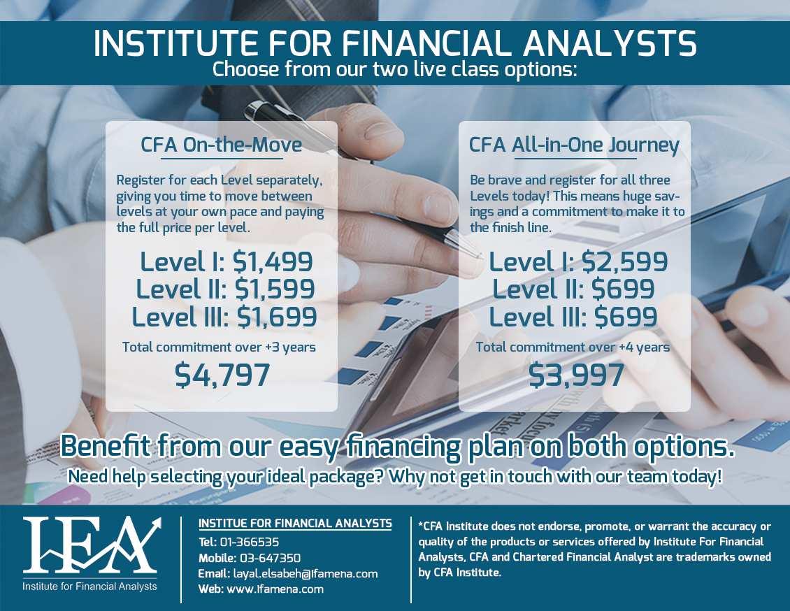 CFA Applications Open - IFA